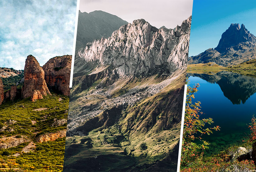 Three circular trekkings in the Pyrenees