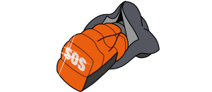 """S.O.S."" EMERGENCY AND SECURITY ELEMENT icon"